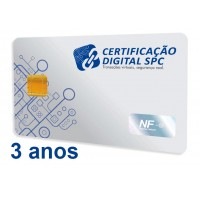e-CNPJ -  A3 - 3 anos (cartão)