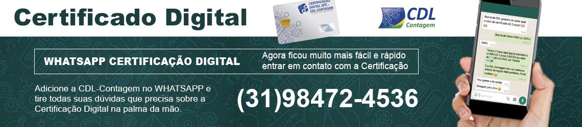 Whatsapp Certificação